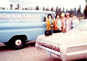 bon bon bakery 1960 - Burnaby Bakery